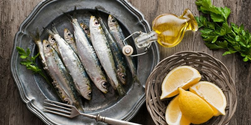 sardines with oil