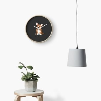 gifts for corgi lover - clock